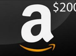 $200 Amazon Gift Card Giveaway: Win A $200 Amazon Gift Card [CLOSED]
