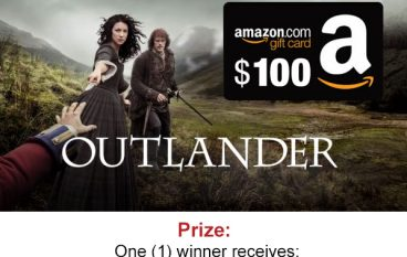 Outlanders Season 3 Fan Giveaway: Win a $100 Amazon Gift Card [CLOSED]