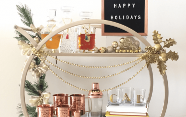 Holiday Bar Cart Giveaway: Win $800 Worth Of Barware Collection [CLOSED]