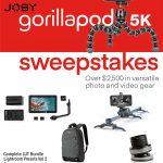 gorillapod5k sweepstakes