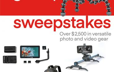 Joby GorillaPod 5k Sweepstakes: Win Over $2,500 Worth Of Photo And Video Gear [CLOSED]