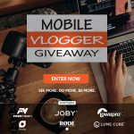 Mobile Vlogger Giveaway: Win $1,000 Worth Of Video Gear