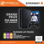 Win a PS4