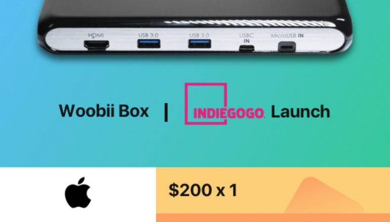 Woobiibox Indiegogo Launch Giveaway: Win A $200 Apple Store Gift Card [CLOSED]
