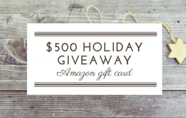 $500 Holiday Giveaway: Win A $500 Amazon Gift Card [CLOSED]