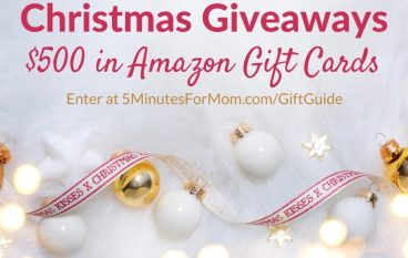 5 Minutes For Mom Christmas Giveaway: Win A $100 Amazon Gift Card [CLOSED]
