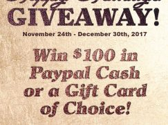 Happy Holidays Giveaway: Win $100 Cash (Paypal) Or Gift Card [CLOSED]