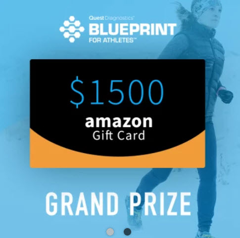 blueprint for athletes giveaway