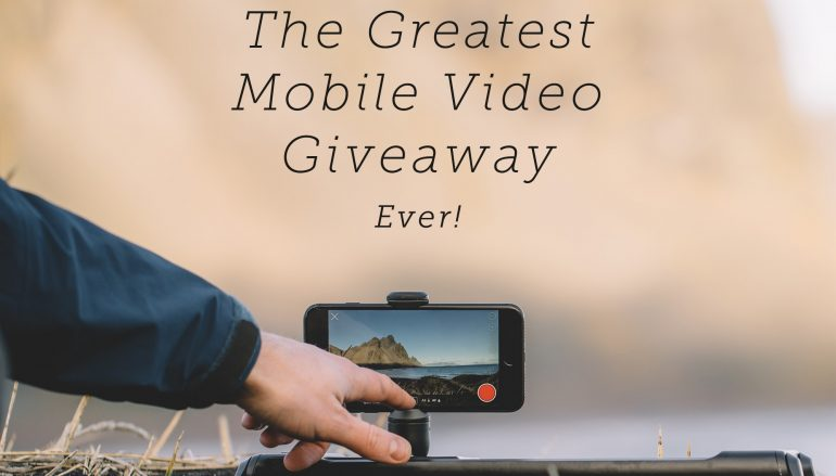Greatest Mobile Video Giveaway: Win An iPhone X And $7K In Mobile Video Gear [CLOSED]