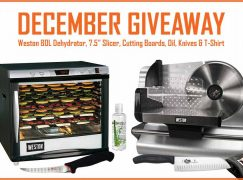 Walton's Monthly Giveaway: Win A Weston 80L Pro Dehydrator And Weston 7.5 Meat Slicer [CLOSED]