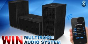 win a multiroom audio system