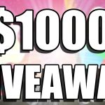 Living Sweet Moments $1,000 Giveaway: Win A $1,000 Gift Card