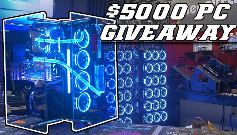 Custom PC Giveaway: Win A $5000 Custom Built Computer [CLOSED]