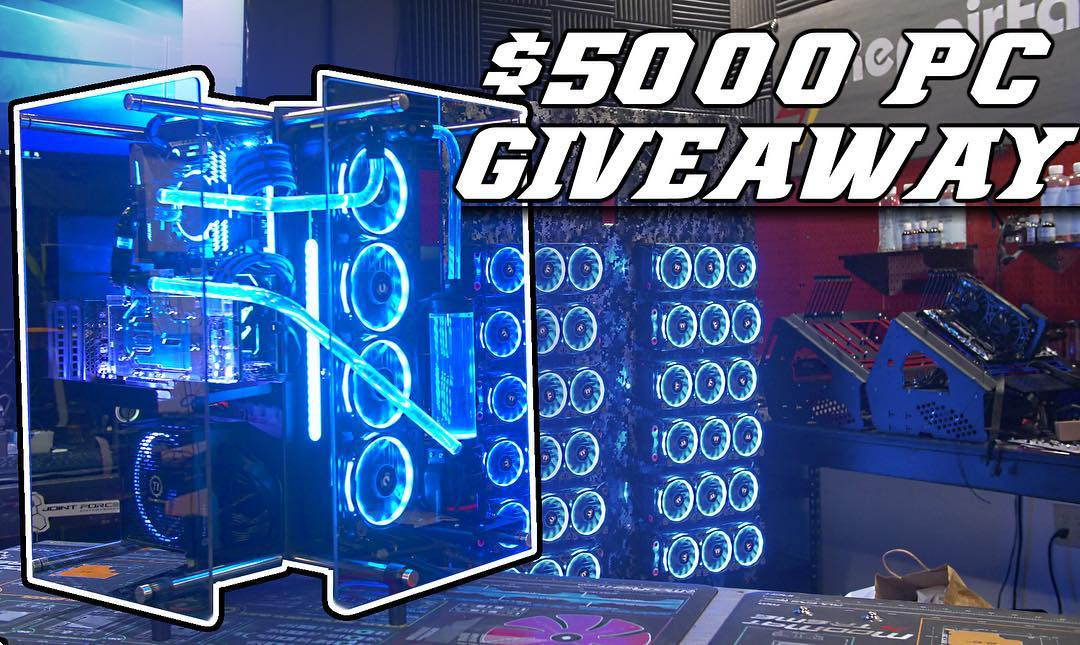 5000 pc giveaway