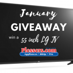 55 inch LG Smart LED TV Giveaway