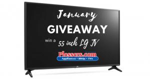 55 inch LG Smart LED TV Giveaway