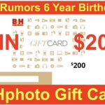 BH Photo Gift Card Giveaway