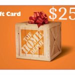 Gorilla Tape giveaway $250 Home Depot Gift Card: Win A $250 Home Depot Gift Card