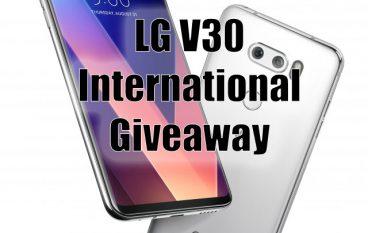 LG V30 International Giveaway: Win A LG V30 Android Phone [CLOSED]