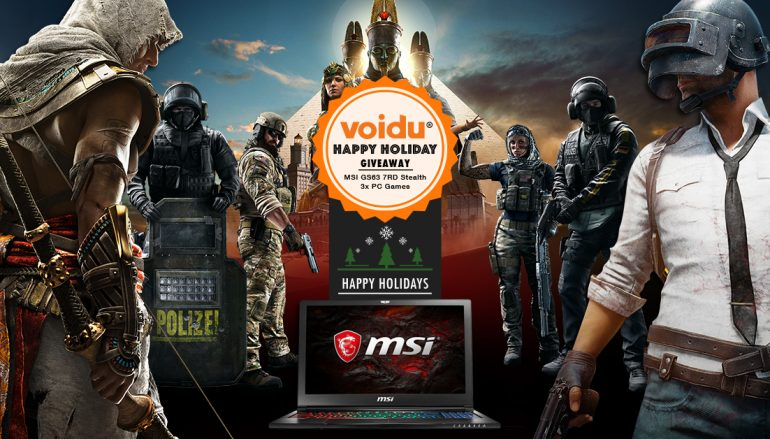 Voidu's Happy Holidays Giveaway: Win A MSI Laptop (And Games) [CLOSED]