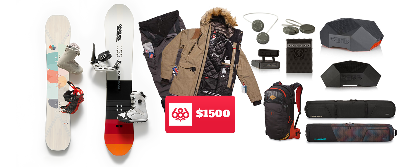 Snowboarding Trip Giveaway