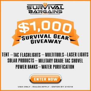 Survival Gear Giveaway