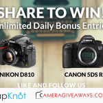 Win A Nikon D810 Or Canon 5DS