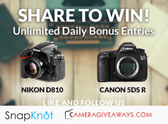 CameraGiveaways Giveaway: Win A Nikon D810 or Canon 5DS [CLOSED]