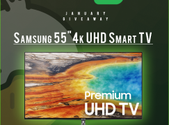 JoshOG Happy New Year Giveaway: Win A Samsung 55″ 4K UHD Smart TV [CLOSED]