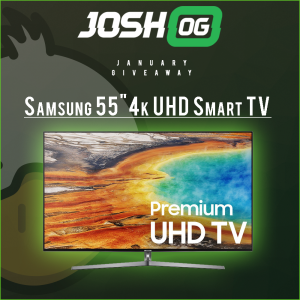 Win A Samsung 55 inch Smart TV