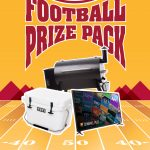 Ultimate Football Prize Pack Giveaway: Win A 65″ LG Flat Screen TV, Traegar Smoker And Yeti Cooler