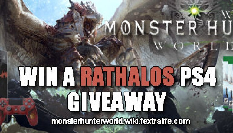 Monsters Hunter World PS4 Giveaway: Win A Playstation 4 [CLOSED]