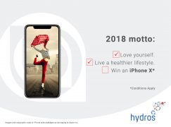 Hydros iPhone X Giveaway: Win An iPhone X [CLOSED]