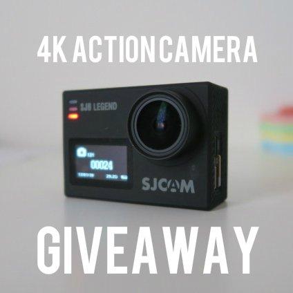 SJCAM 4k action camera giveaway