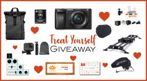Sony A6300 GoPro Hero 6 Camera Bundle giveaway