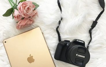 Rose Gold iPad + Canon Rebel Kit Giveaway: Win A iPad And Canon Rebel [CLOSED]