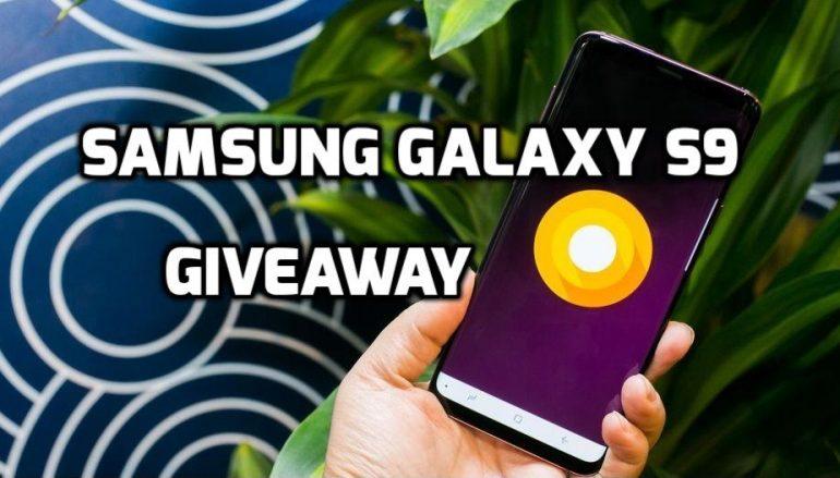 Samsung Galaxy S9 Plus International Giveaway: Win A Samsung Galaxy S9 Plus [CLOSED]