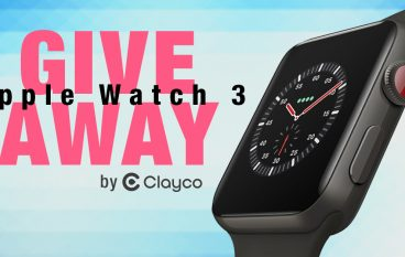 Apple Watch 3 Giveaway By Clayco: Win An Apple Watch 3