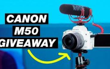 Canon M50 Video Creator Kit Giveaway: Win A Canon M50 [CLOSED]
