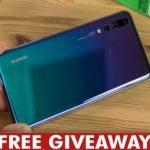 Huawei P20 Pro Giveaway
