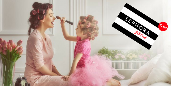 Mother's Day Sephora Gift Card Giveaway