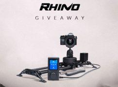 Adventure Filmmaker Giveaway: Win A Rhino Slider EVO Bundle [CLOSED]