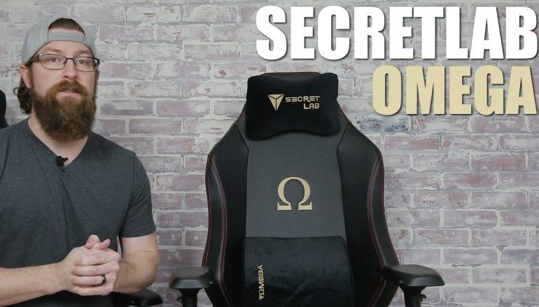 Secretlab Omega 2018 Gaming Chair: Win A Secretlab Omega Gaming Chair [CLOSED]