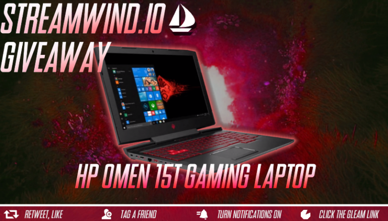 HP OMEN 15t Gaming Laptop Giveaway: Win A HP Omen 15t Gaming Laptop [CLOSED]