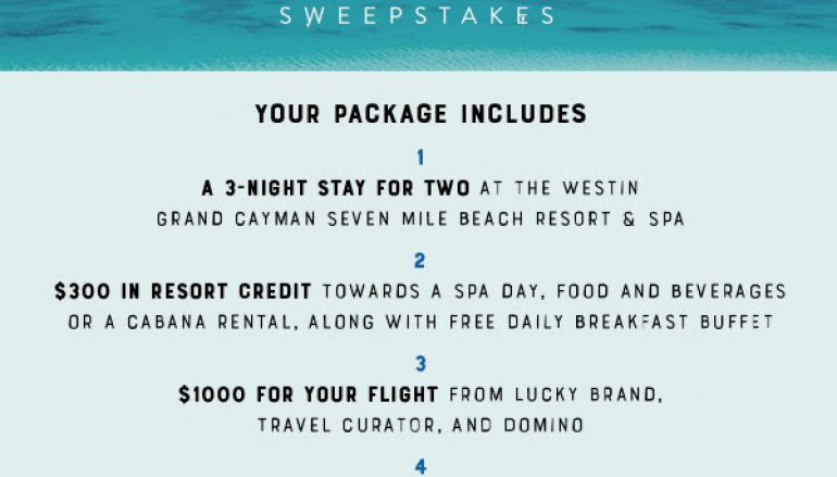 The Unplug & Unwind Sweepstakes: Win A Trip To Grand Cayman Islands