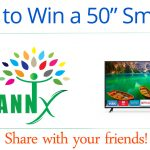 Win A Vizio 50 inch 4K Smart LED TV