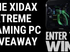 The Xidax Extreme Gaming PC Giveaway: Win A Xidax Gaming PC (Worth $5600) [CLOSED]