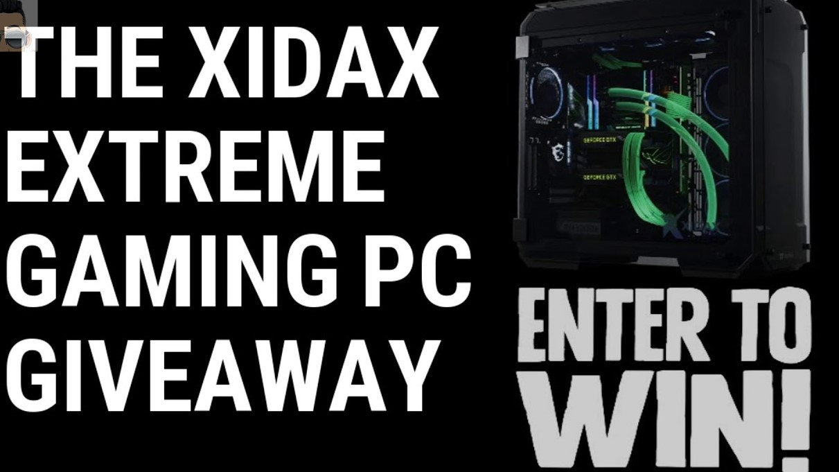 Xidax extreme gaming pc giveaway