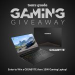Tom Guide's Giveaway: Win A Gigabyte Aero 15W Gaming Laptop