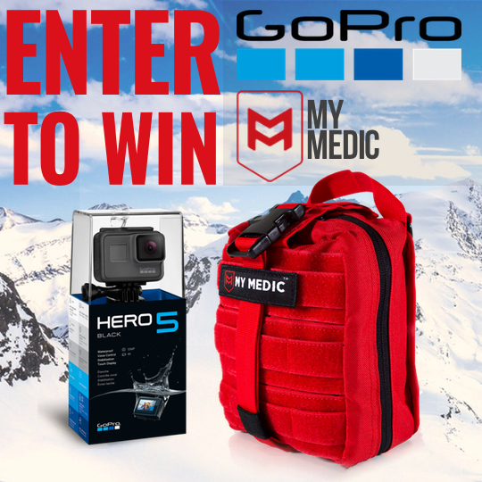 GoPro Hero5 Giveaway